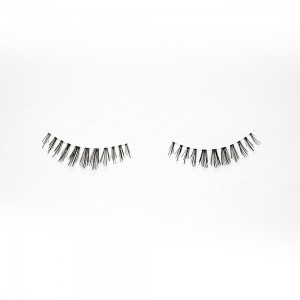 Beauty Manual Buckle Clear Band Lashes Silk Lashes Manufacturers China